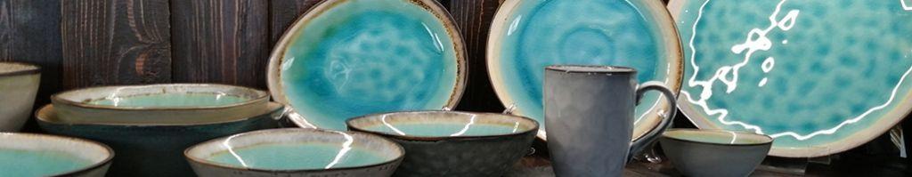 Каменная керамика Blue Spider Silk