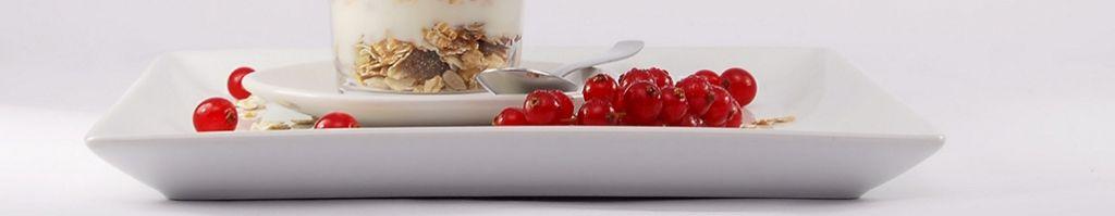 Белая посуда для кафе, столовых и ресторанов